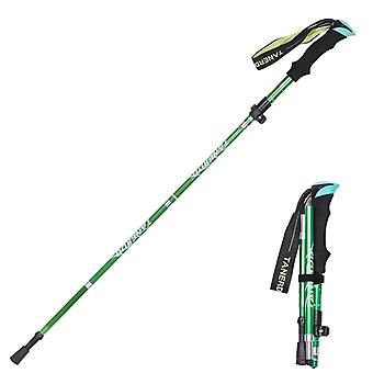 5-section Outdoor Fold, Trekking Poles For Nordic Hiking, Walking Stick