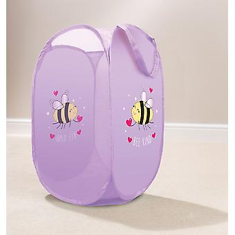 Country Club Kids Pop Up Laundry Basket, Bumble Bee