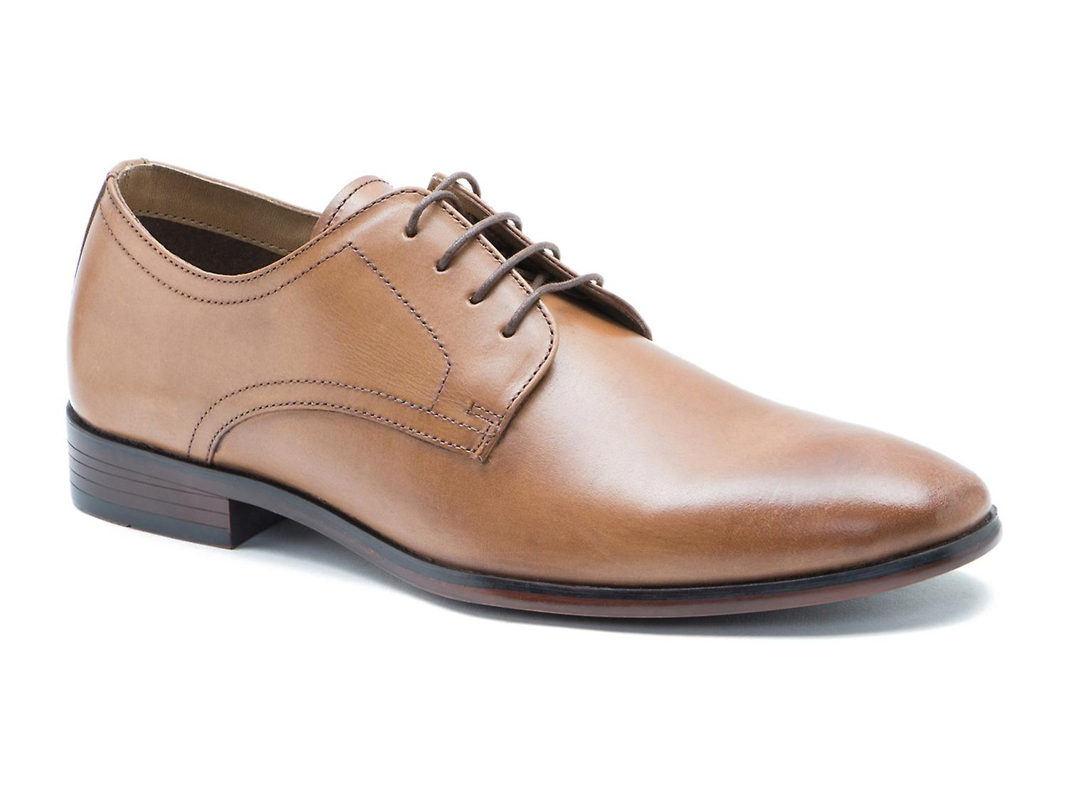 Red Tape Silwood Tan Leather Formal Mens Derby Shoes