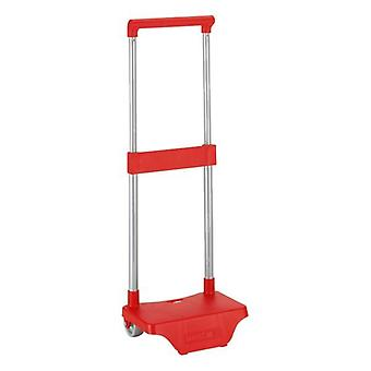 Rucksack trolley safta red red