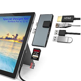 Surface pro hub usb3.0 Extended-Dock 6-in-1