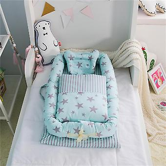 Baby-Co-Schlafbett, tragbare BabyKrippe 95 * 50 * 15cm (37 * 19 * 6in) 3pcs/set