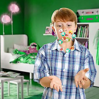 FengChun 90 Mini Flummis, Springblle, Kleine Gummiblle, 25mm - Kindergeburtstag Party Mitgebsel,