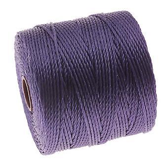 سوبر لون (S-لون) الحبل - حجم 18 النايلون الملتوية - متوسط الأرجواني / 77 ياردة بكرة