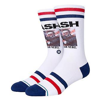 Stance Cash American Rebel Socks - White