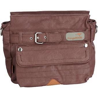 KangaROOS JEAN (set) B0176/326, Women's Crossbody Bag, 23x30x12 cm (L x A x P), Brown (Braun (chestnut 326)), 23x30x12 cm (L Ref. 4049733850311