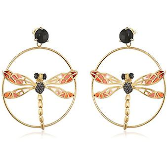 Misis Woman-Earrings Lillybeth Silver 925 black zircons onyx 7 cm - OR08269
