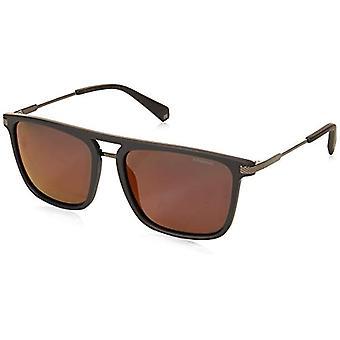 Polaroid PLD 2060/S Sonnenbrille, Grau rot, 56 Herren