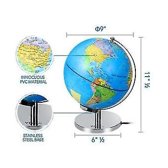 Souhvězdí Zeměkoule s držákem, Inteligentní glóbus vhodný pro děti>s Učení, Noční LED osvětlení