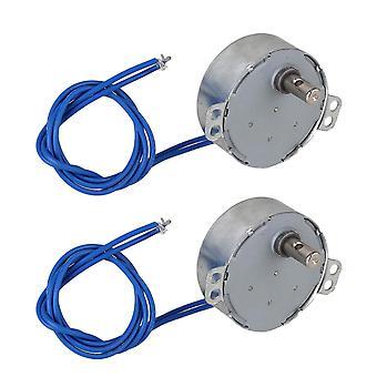 Para 2pcs metal y plástico AC110V TYC-50 motor síncrono 15-18rpm CW / CCW WS4665
