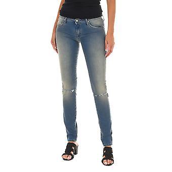 MET Mujeres Jeans Birkin Azul