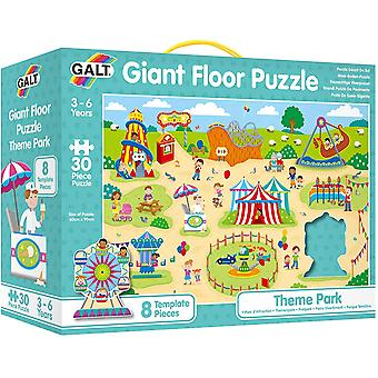 Theme Park Giant Childrens Floor Puzzle
