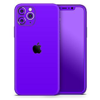 Solid Purple - Bőr-készlet kompatibilis az Apple Iphone 12, 12 Pro