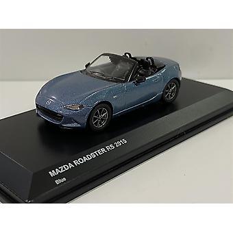 Mazda Roadster Blue 2015 1:64 Scale Kyosho 7068A2