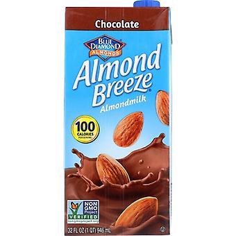 Blue Diamond Bev Almond Brze Choc, Case of 12 X 32 Oz