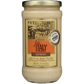 Lille Italien I Bronx Sauce Alfredo, sag af 6 X 15 Oz