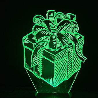 Gift 3d Led Night Light Kids Bedroom Table Lamp