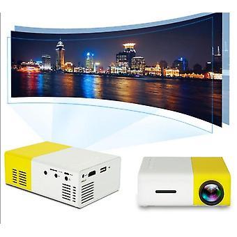 LCDミニプロジェクターHD 1080p解像度ウルトラポータブルホームシアター