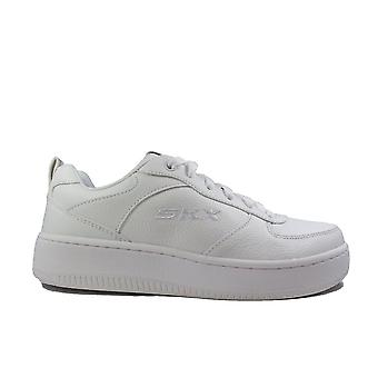 Skechers Sport Court 92 149440 White Leather Womens Casual Trainers