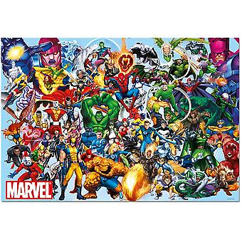 Educa Marvel Heroes Jigsaw Puzzle (1000 Pieces)