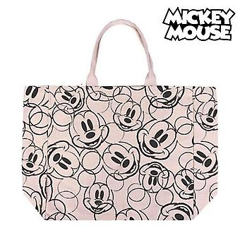 Bag Mickey Mouse Handles Beige