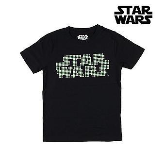 Child's Short Sleeve T-Shirt Star Wars Black