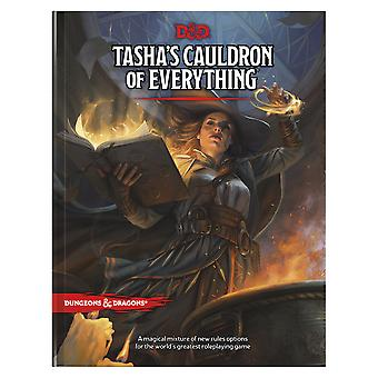 Tasha's Cauldron of Everything (D&d Rules Expansion) (Dungeons & Dragons) by Wizards RPG Team (Hardcover, 2020)