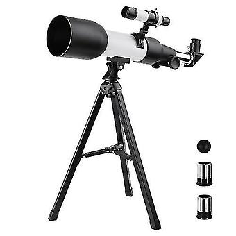 Monoculars astronomical refracting telescope monocular outdoor travel spotting scope with tripod for kids beginners gift