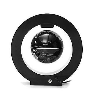 4 Inch Magnetic Levitation Floating Globe Map LED Light Home Office Desktop Decor Gift 01 COLOR