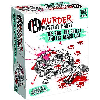 The Brie, The Bullet & The Black Cat Murder Mystery Party Game
