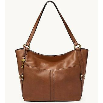 Fossil Sam Brown Leather Tote Large ZB1464200