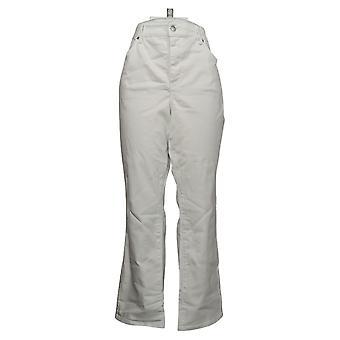 NYDJ Women's Petite Jeans Straight Uplift In Cool Embrace Blanco A395678