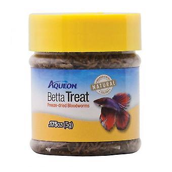 Aqueon Betta Treat Freeze Dried Bloodworms - 0.175 oz