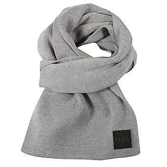 Hugo boss foxon medium grey scarf
