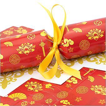 10 Goldene orientalische Cracker - Machen und füllen Sie Ihr eigenes Kit ohne Bänder