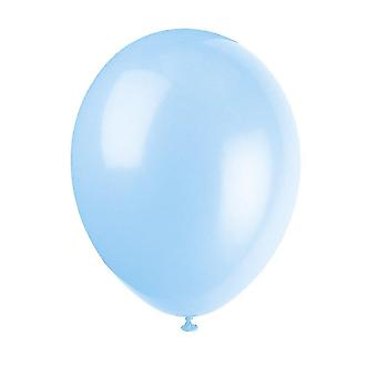 """Balloons unique party 56856 - 12"""" latex cool blue balloons  pack of 50"""