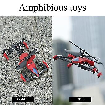 Robotic toys quadcopter car toys 2 in 1 air-ground flying car rc drone quadcopter 3d flip