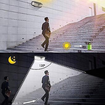 308 Leds Solarlicht im Freien 3 Modi ip65 wasserdichte moderne Wandleuchte mit pir Bewegungssensor Straße
