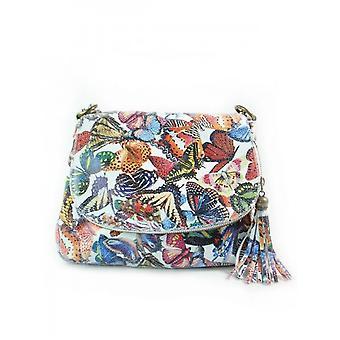 Vera Pelle A5 Chlebak Motyle VP1017M ellegant  women handbags