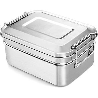 Boîte à lunch acier inoxydable 2000 ml