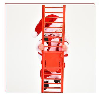 Drabina elektryczna Święty Mikołaj Boże Narodzenie Muzyka Dekoracja Prezent Dzieci Świąteczne zabawki