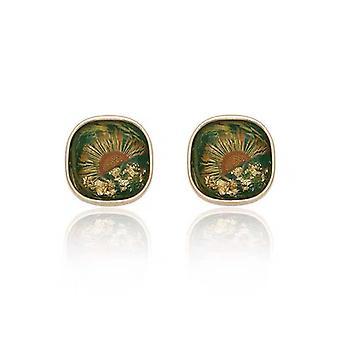 Süße Kamelie Blume Ohrstecker Ohrringe Floral Design Weiße Perlen Perlen Ohrstecker Ohrringe