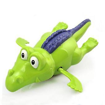 Wind-up Diver Úszás Krokodil Óramű Toy Műanyag Baby Kid Bathtime