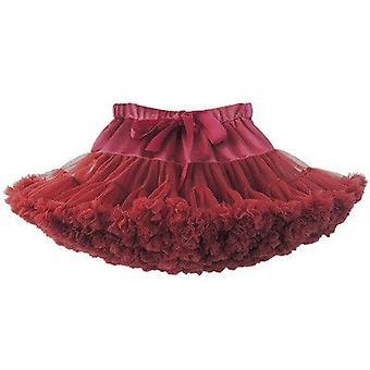 طفل بنات توتو تنورة الأميرة رقيق لينة تول الباليه حفلة عيد ميلاد Pettiskirt