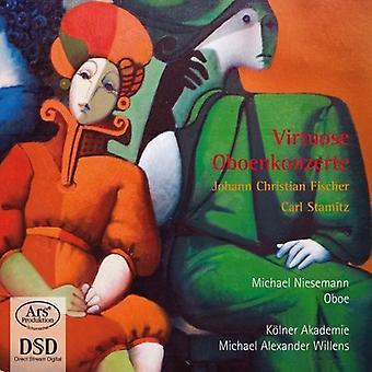 Niesemann, Michael/Kolner Akademie - Virtuose Oboenkonzerte [SACD] USA import
