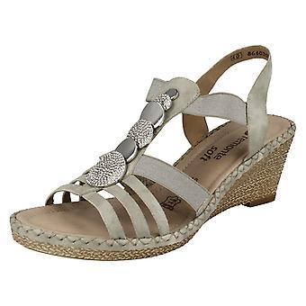 Las señoras retan charol sandalias D6753