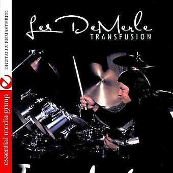 Les Demerle - Transfusion [CD] USA importieren