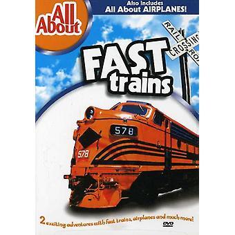 列車・飛行機 【 DVD 】 米国をインポートします。
