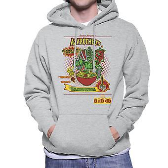 Azarotheos World Of Warcraft Cereal Men's Hooded Sweatshirt