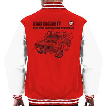 Haynes Workshop Manual US0912 Dodge F Black Men's Varsity Jacket